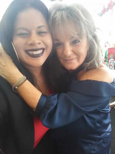 Kristina and Donna!